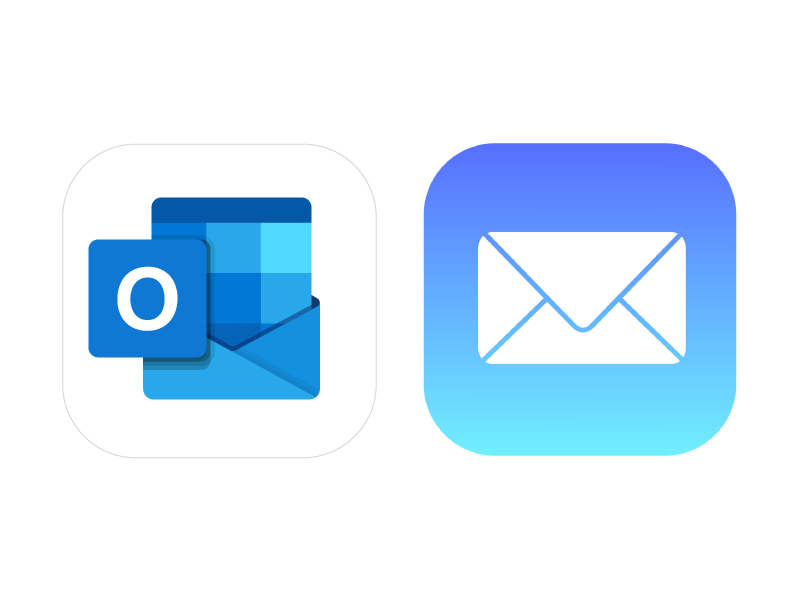 Je mail in Outlook